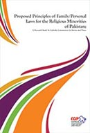 proposed principles of family/personal laws for the religious minorities of pakistan